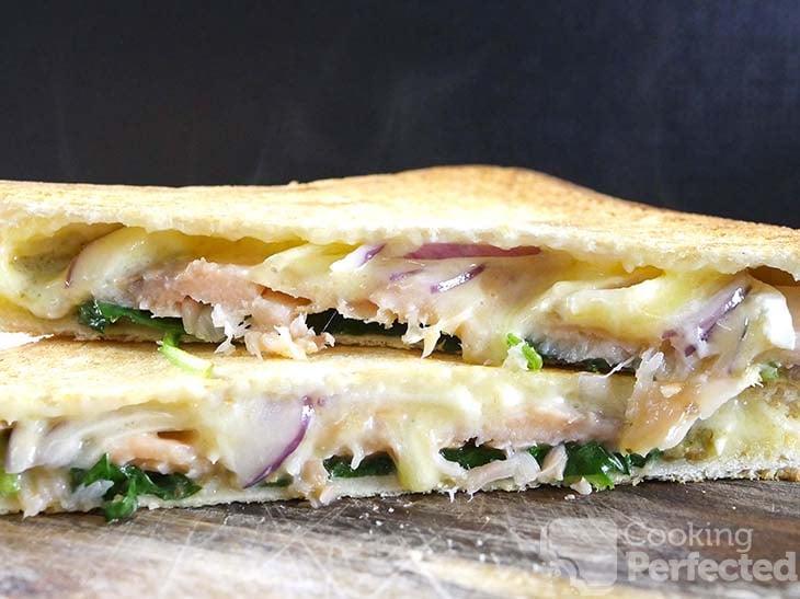 Grilled Smoked Salmon Sandwich