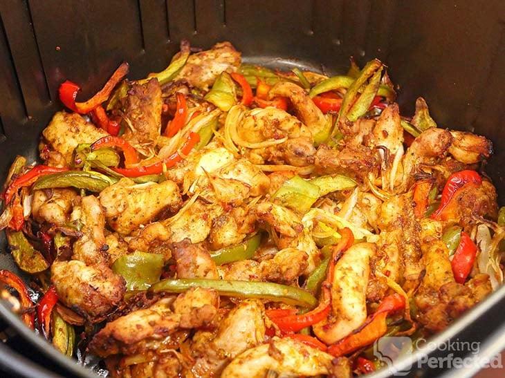 Chicken Fajitas in the Air Fryer