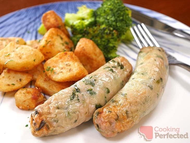 Air Fryer Chicken Sausages